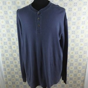 Cabela's gray pull over long seeve shirt size L